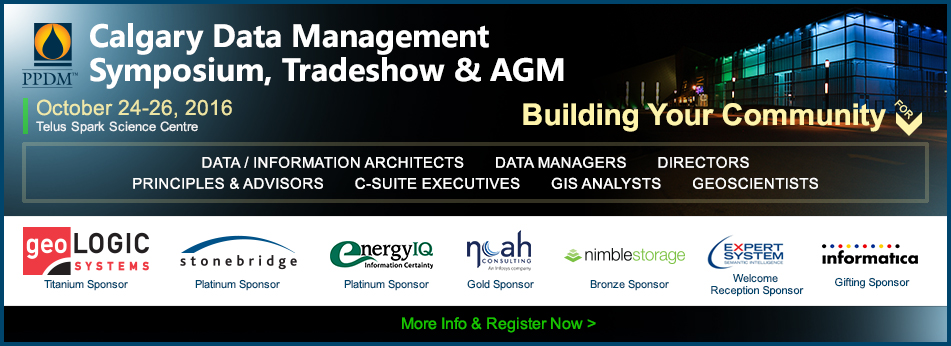 Calgary Data Management Symposium, Tradeshow & AGM 2016